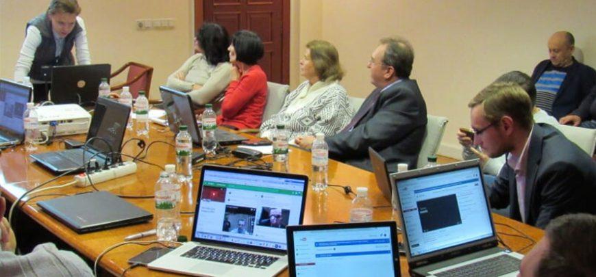 Працівники Апарату Українського парламенту засвоїли професійні навички роботи в медіасередовищі YouTubе